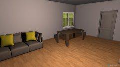 Raumgestaltung Original Grundriss WZ in der Kategorie Wohnzimmer