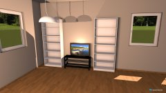 Raumgestaltung owhnzimmer in der Kategorie Wohnzimmer