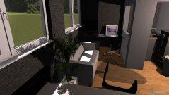 Raumgestaltung P2 einzimmerwohnung erkner in der Kategorie Wohnzimmer