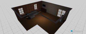 Raumgestaltung padureni in der Kategorie Wohnzimmer