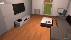 Raumgestaltung Papa Wohnung in der Kategorie Wohnzimmer