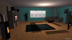 Raumgestaltung papas wohnzimmer in der Kategorie Wohnzimmer