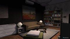 Raumgestaltung part of an apartment in der Kategorie Wohnzimmer