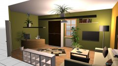 Raumgestaltung Patricks Zimmer in der Kategorie Wohnzimmer