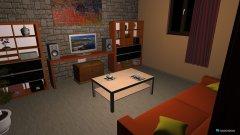 Raumgestaltung PEACE in der Kategorie Wohnzimmer