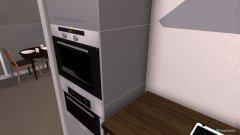 Raumgestaltung penthouse keuken kant in der Kategorie Wohnzimmer