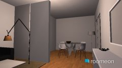 Raumgestaltung Penthouse Wohnbereich in der Kategorie Wohnzimmer