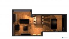 Raumgestaltung Penthouse_Wohnzimmer in der Kategorie Wohnzimmer