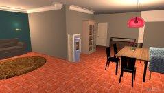 Raumgestaltung Perlhuhnweg in der Kategorie Wohnzimmer