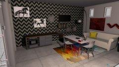 Raumgestaltung pince in der Kategorie Wohnzimmer