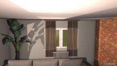 Raumgestaltung Pokój duży_1 in der Kategorie Wohnzimmer