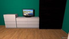 Raumgestaltung Pokój marzeń in der Kategorie Wohnzimmer