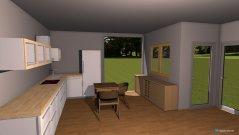 Raumgestaltung Pokoj dzienny in der Kategorie Wohnzimmer