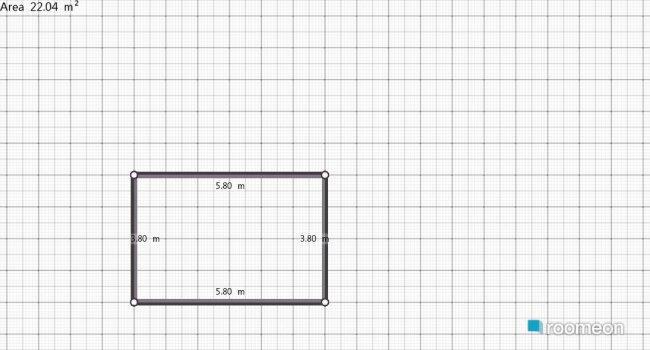 Raumgestaltung POKOJ PROBNY in der Kategorie Wohnzimmer