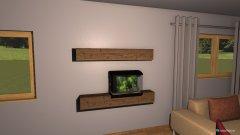 Raumgestaltung pokus 2 in der Kategorie Wohnzimmer
