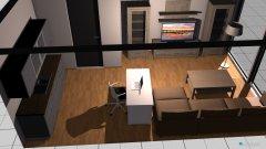 Raumgestaltung Posthof in der Kategorie Wohnzimmer