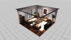 Raumgestaltung Practice Project  in der Kategorie Wohnzimmer
