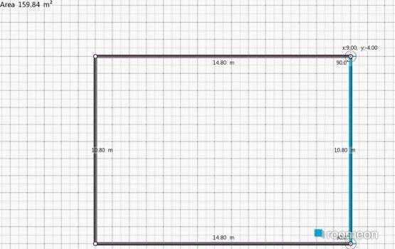 Raumgestaltung Primeiro Projeto in der Kategorie Wohnzimmer
