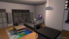 Raumgestaltung PROFBUD A-78 in der Kategorie Wohnzimmer