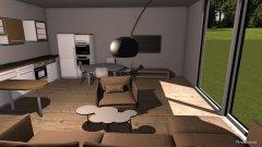 Raumgestaltung projekt Juszkowo in der Kategorie Wohnzimmer