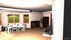 Raumgestaltung projekt salon in der Kategorie Wohnzimmer