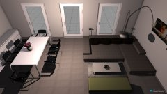 Raumgestaltung Projekt Wohn- Esszimmer in der Kategorie Wohnzimmer