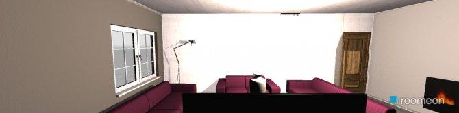 Raumgestaltung purple in der Kategorie Wohnzimmer
