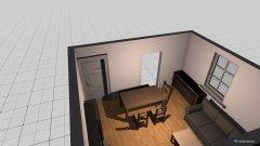 Raumgestaltung Quadr.Zimmer in der Kategorie Wohnzimmer