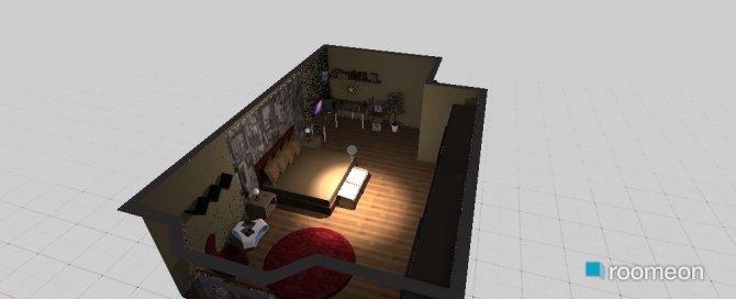 Raumgestaltung quarto in der Kategorie Wohnzimmer