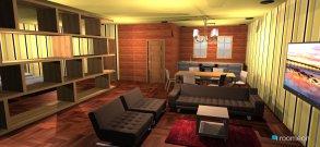 Raumgestaltung rap unit 30 sqm in der Kategorie Wohnzimmer
