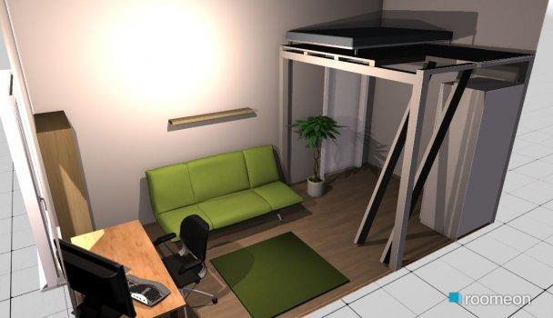 Raumgestaltung Raum Leipzig 2 in der Kategorie Wohnzimmer
