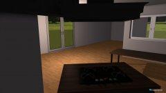 Raumgestaltung Raumplan Küche Wohnen roh in der Kategorie Wohnzimmer