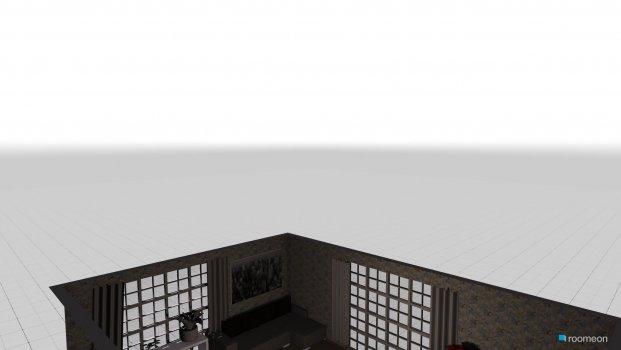 Raumgestaltung red rose  in der Kategorie Wohnzimmer