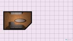 Raumgestaltung REIMS WOHNZIMMER in der Kategorie Wohnzimmer