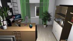 Raumgestaltung Renovierung 2015 - Wohnstube - erster Entwurf in der Kategorie Wohnzimmer