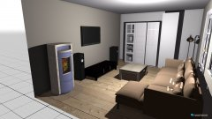 Raumgestaltung Renovierung 2015 in der Kategorie Wohnzimmer