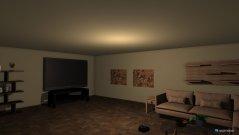 Raumgestaltung Residential Living Room in der Kategorie Wohnzimmer