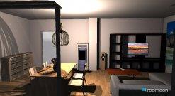 Raumgestaltung Richards Wohnzimmer in der Kategorie Wohnzimmer