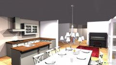 Raumgestaltung Ried EG V1 in der Kategorie Wohnzimmer