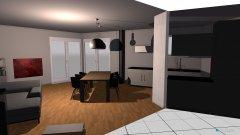Raumgestaltung Rieden Wohn-Esszimmer in der Kategorie Wohnzimmer