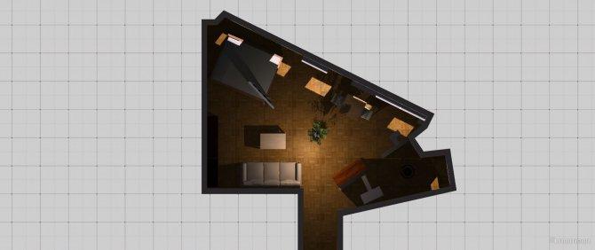 Raumgestaltung Ringturm-Apartment in der Kategorie Wohnzimmer