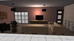 Raumgestaltung Rosenkamp 10 in der Kategorie Wohnzimmer