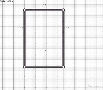 Raumgestaltung Ross in der Kategorie Wohnzimmer
