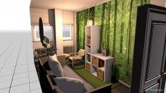 Raumgestaltung Ruheraum in der Kategorie Wohnzimmer