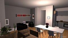 Raumgestaltung sala alternativa in der Kategorie Wohnzimmer