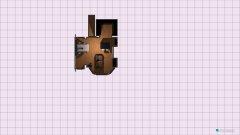 Raumgestaltung sala com bar in der Kategorie Wohnzimmer