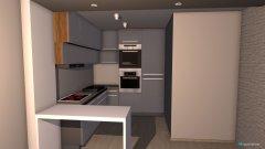 Raumgestaltung Salon i kuchnia in der Kategorie Wohnzimmer