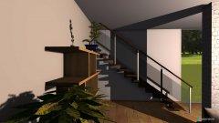 Raumgestaltung salon+kuchnia in der Kategorie Wohnzimmer
