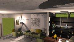Raumgestaltung salon w curtain space in der Kategorie Wohnzimmer
