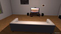 Raumgestaltung Salon z gadżetami in der Kategorie Wohnzimmer
